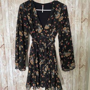 COPY - Free People Lilou Floral Print Minidress S…